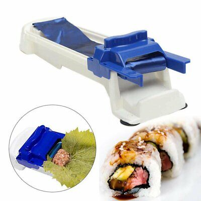 DIY Sushi Roller Machine Grape Cabbage Leaves Rolling Tool Maker Kitchen Roll