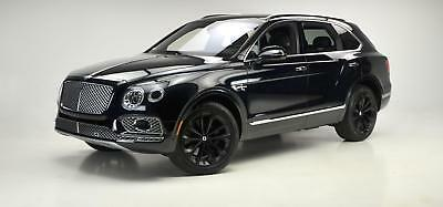 Bentayga W12 2017 Bentley Bentayga W12 Onyx Metallic over Beluga 4,459 Miles.