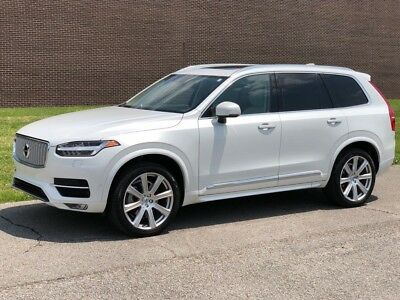 XC90 T6 Inscription Crystal White Pearl Metallic Volvo XC90 with 43,417 Miles available now!