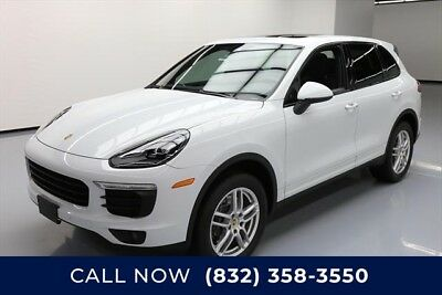 Porsche Cayenne  Texas Direct Auto 2016 Used 3.6L V6 24V Automatic AWD SUV Premium Moonroof Bose