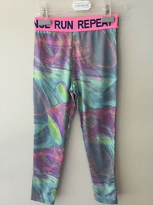 Girls Next Sport Fitness Leggings  Age 8 Never Worn Excellent Condition