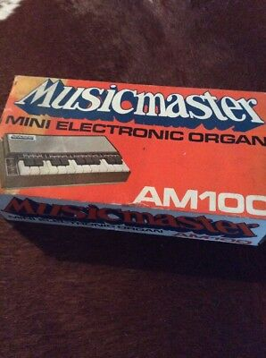 Mini Electronic Organ Very Rare Stylaphone