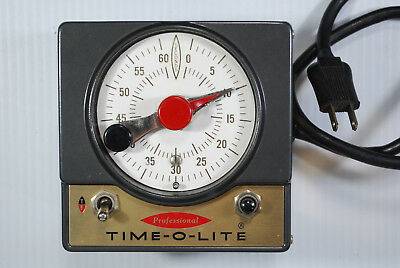Time-O-Lite Professional Photography Darkroom Timer Model P-59 - Works