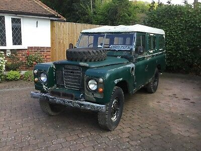 Land Rover Series 3 LWB 109, Military Land Rover