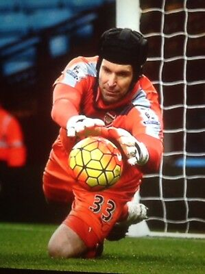 ARSENAL PLAYER ISSUE GOALKEEPER SHORTS WORN BY PETR CECH No 33 100% genuine XL