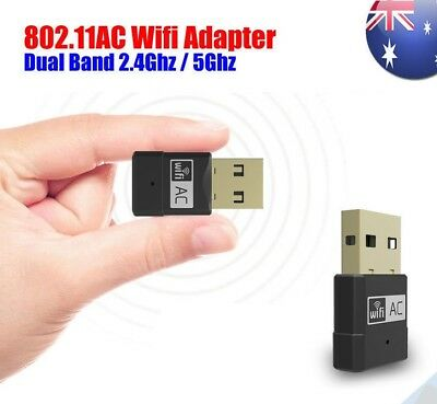 AC600 Dual Band 2.4G/5 G Wireless Network Adapter USB WiFi Adapter For Desktop