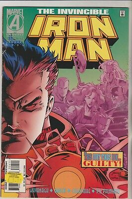 *** Marvel Comics Iron Man #324 January 1996 Vg ***