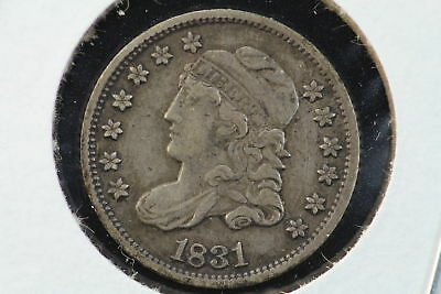 1831 Capped Bust Liberty Half Dime XF