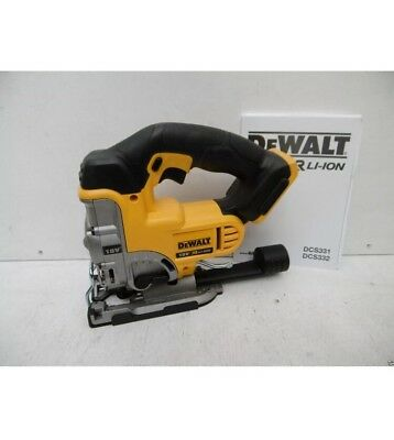 Brand New Dewalt Xr 18V Dcs331 Cordless Jigsaw + Paperwork - Bare Unit