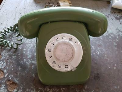 "Rotary  telephone ""Green"""