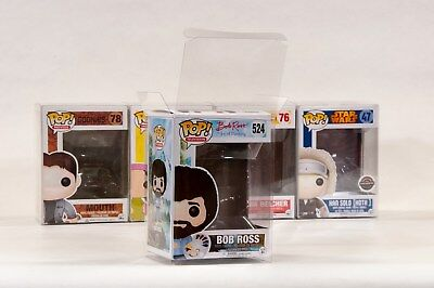 "FUNKO POP Protectors Set of 5 for 4"" Vinyls - Acid-free and crystal clear"