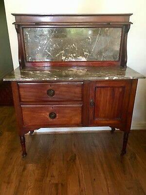 Antique Marble Washstand