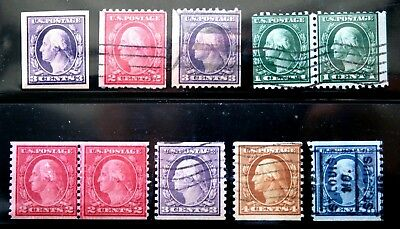 RNV139 ****  LARGE LOT EARLY 20th CENTURY STAMPS, MINT & USED, LOT 123, FREE S&H