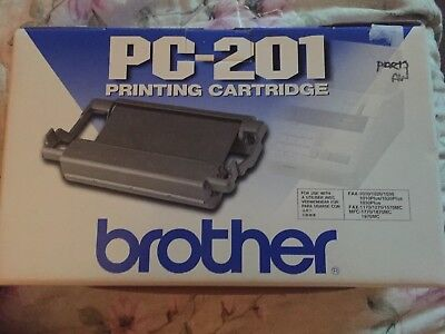 Genuine Brother PC-201 Printing Cartridge * Fax & MFC *