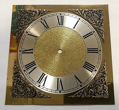 Large Brass Clock Face For Grandfather Clock New
