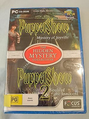 Brand new PC game The Hidden Mystery Collectives: Puppet Show 1 & 2 (2010)