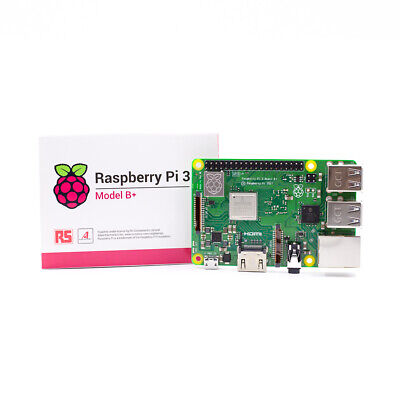 Raspberry Pi 3 Model B Plus B+  Quad Core 1.4GHz 1GB RAM WiFi & Bluetooth 4.2 UK