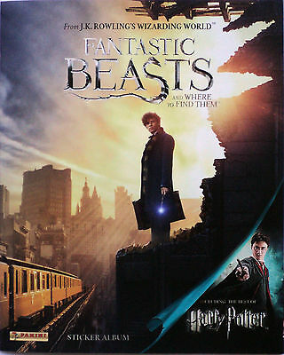 Fantastic Beasts And Where To Find Them Sticker Album Panini 2016