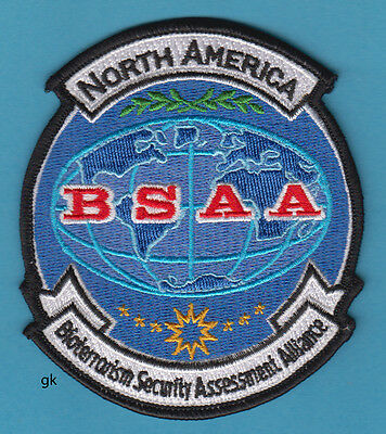 Resident Evil Bsaa North America Bioterrorism Patch