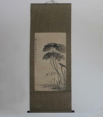 Fine Old Chinese Hand Painted Painting Scroll Shi Tao (157)