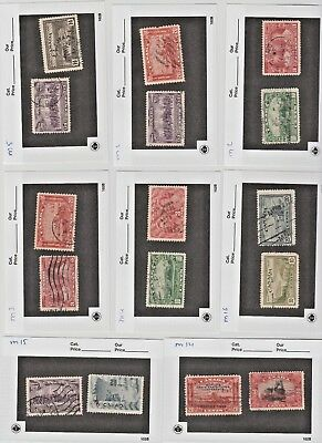 Canada Stamps Set 1930Th