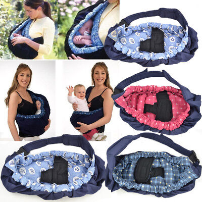 Baby Carrier Newborn Infant Sling Wrap Breastfeeding Papoose Nursing Pouch