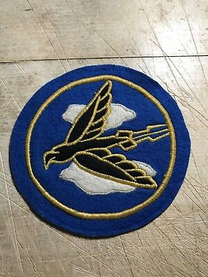 WWII/WW2 US AIR FORCE PATCH-525th Fighter Bomber Squadron-ORIGINAL BEAUTY! USAAF