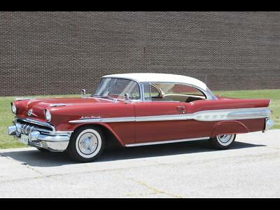 STARCHIEF -- 1957 Pontiac STARCHIEF, Burgundy with 33,325 Miles available now!