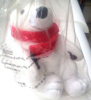 coca Cola Polar Bear red scarf with pipe and Coca Cola unopened new