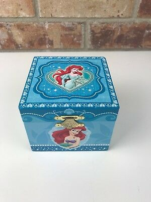 DISNEY PARKS The Little Mermaid Ariel Musical Jewelry Box Under the