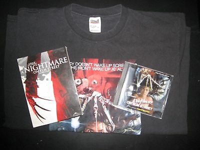 Nightmare on Elm Street Lot T-Shirt CD Score OST Infinifilm DVD Freddy Krueger