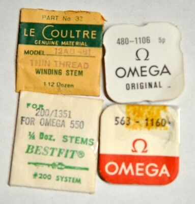 Original Material Le Coultre & Omega Teile NOS #PS230