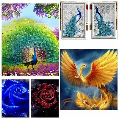 DIY 5D Drill Diamond Painting Embroidery Cross Craft Stitch Kit Home Decoration