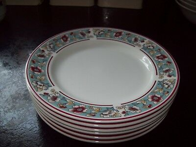 """6 X Johnson Brothers Malvern Side Plates 6"""" - Immaculate Condition"""