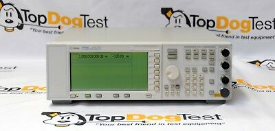 Hp Agilent Keysight E4400B-1E5 Analog RF Signal Generator, 250 kHz to 1 GHz