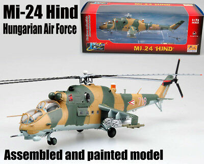 Hungarian air force Mil Mi-24 hind helicopter 1/72 non diecast plane Easy model