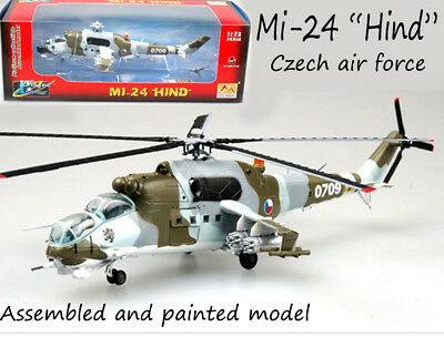 Czech air force Mil Mi-24 hind helicopter 1/72 non diecast plane Easy model