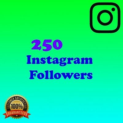 250 Instàgram Followers | Cheapest on Ebay | Quick Delivery