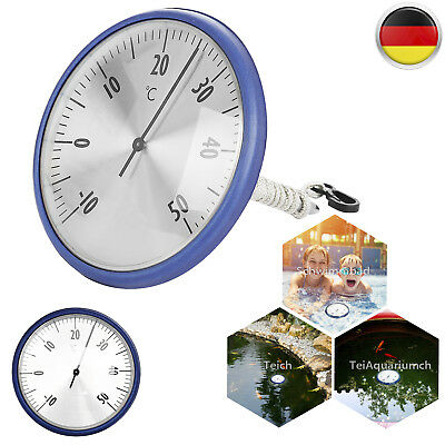 Schwimmbadthermometer Pool Thermometer Teichthermometer Poolwatch -10~50°C(±1°C)