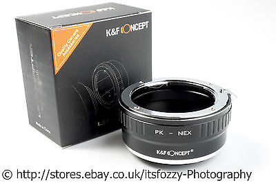 K&F Concept PK to NEX Adapter Pentax K to Sony NEX (E-Mount) Adapter