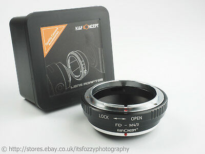 K&F Concept FD to Micro Four Thirds MFT Adapter FD to M43 To Canon FD