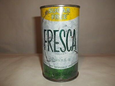 Fresca Juice Tab Soda Pop Can.....very Solid Can!!!!