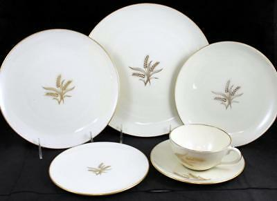Lenox China WHEAT 6 Piece Place Setting R442 GREAT VALUE