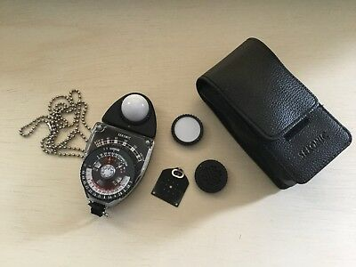 Sekonic Studio Deluxe Model L-398 Light Meter