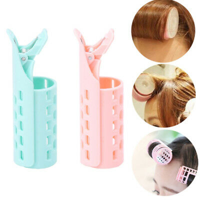 Lady Girl DIY Styling Fringe Bangs Curler Roller Holder Hair Clip Hair Beauty