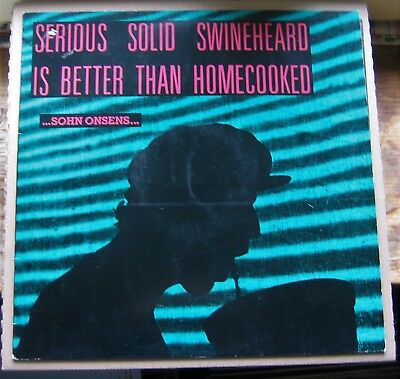 Serious solid swineheard is better than homecooked, Sohn onsens, 1989