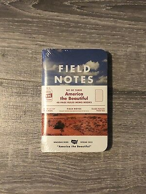 Field Notes FNC-18 America the Beautiful - Unopened 3-pack - Limited Edition