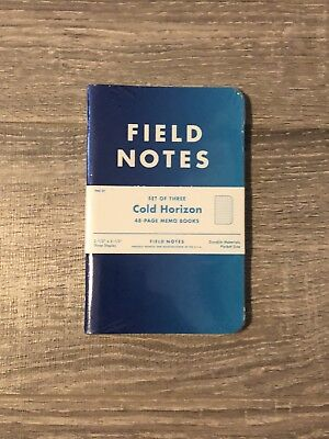 Field Notes FNC-21 Cold Horizon - Limited Edition Colors 3-pack - Unopened