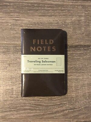Field Notes FNC-16 Traveling Salesman - Limited Edition 3-pack - Unopened