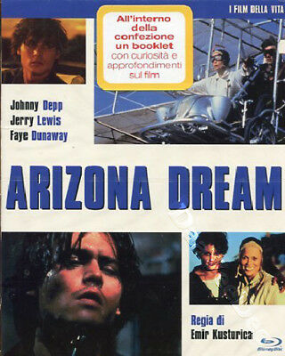 Arizona Dream  NEW Arthouse Blu-Ray Disc Emir Kusturica Johnny Depp